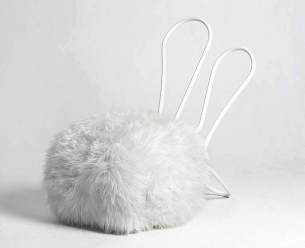 Уютные домашние пуфики Rabbit Chair в виде кроликов