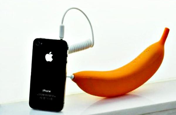 Трубка-банан Radiation-Proof Banana Handset защитит от радиации