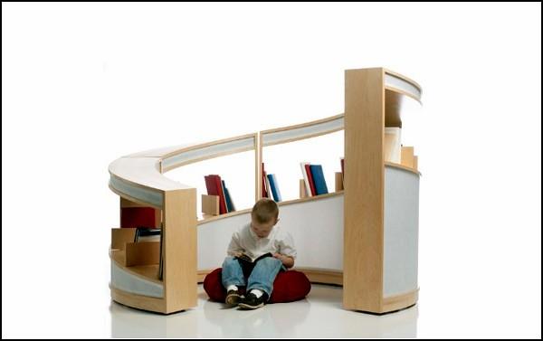 Книжное святилище для детей и их родителей