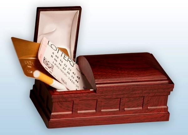 Девайс Bury the Habit Recordable Coffin поможет похоронить вредную привычку