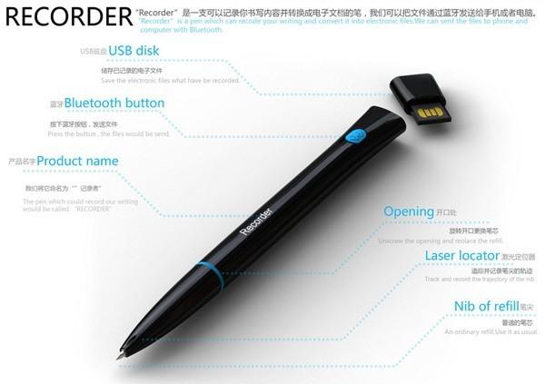 Recorder Pen, чудо-ручка, которая превращает рукописное в напечатанное