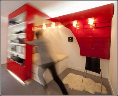 Красное *гнездышко* Red Nest от Paul Coudamy
