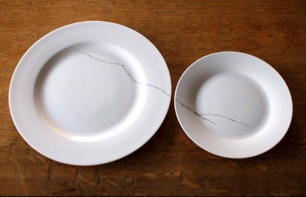 Crack of Thunder. Золотые трещины на фарфоровых тарелках