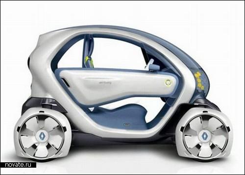 Компактный электромобильчик Renault Twizy ZE