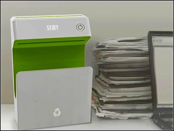 Reverse Printer, принтер, который стирает, а не печатает