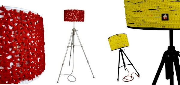 Промышленный дизайн: Rewashlamp Project: модный торшер из штатива и стиральной машинки.