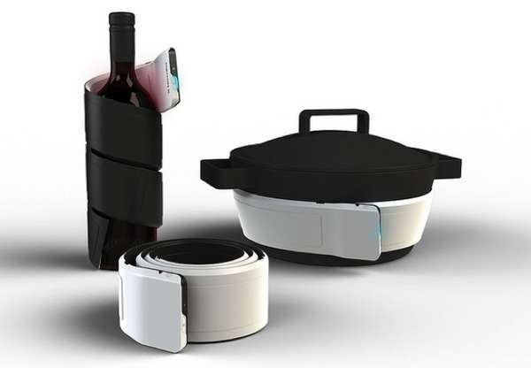 Ribbon, концептуальный гаджет для разогрева и охлаждения еды