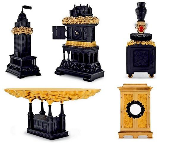 Жутко шикарная коллекция мебели Robber Baron от студии Studio Job
