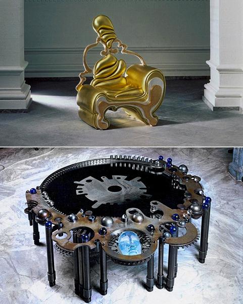 Лампы и мебель как произведение искусства. Дизайн Роберто Фаллани (Roberto Fallani)