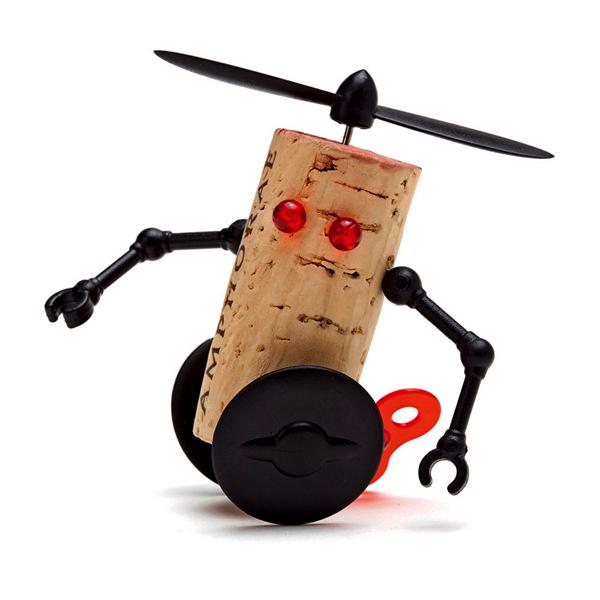 Willy, робот из винных пробок, серия Corkers Robots
