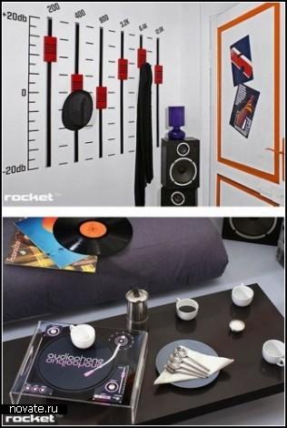 Музыкальная мебель Rocket furniture