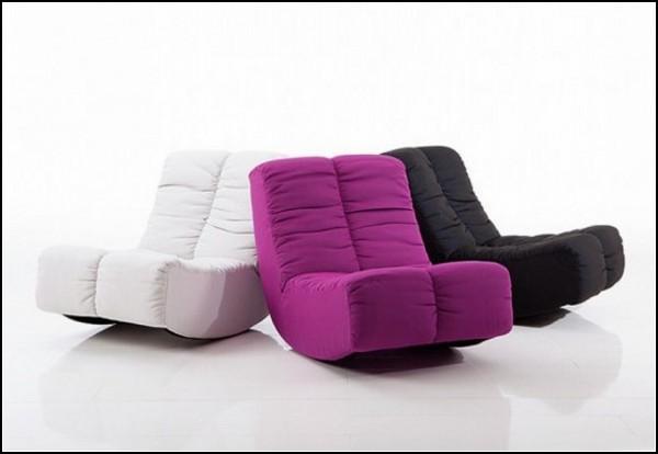 Стильные кресла-качалки для молодых и активных