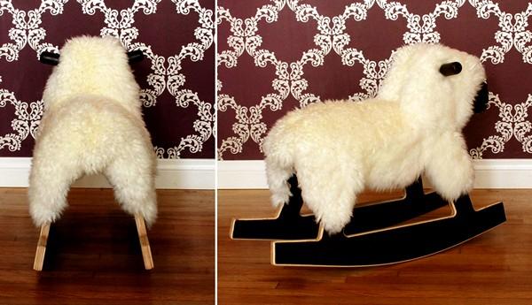Rocking Sheep, детское кресло-качалка в виде овечки-качалки