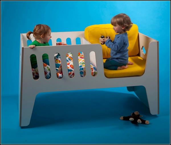 Rocky: многофункциональная детская кроватка от Jall & Tofta