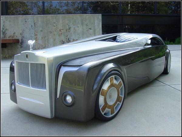 Концептуальный автомобиль-кашалот Rolls-Royce Apparition