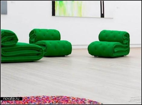 Roulade. Кресло-матрас от Kilo Design