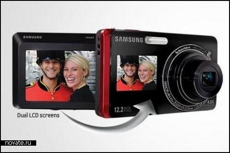 DualView Camera от Samsung. Фотоаппарат для съемки самого себя
