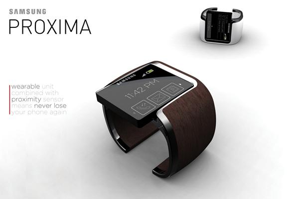 Samsung Proxima: телефон-часы, который не потеряется