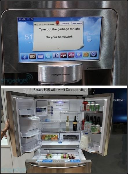 Samsung RF3289, холодильник со встроенным компьютером