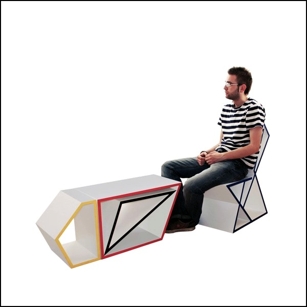 Функциональная и практичная мебель-паззл Shape&Function