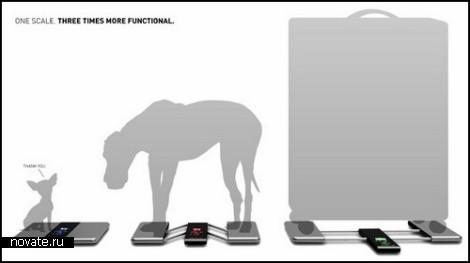 Концептуальные умные весы Scale Z