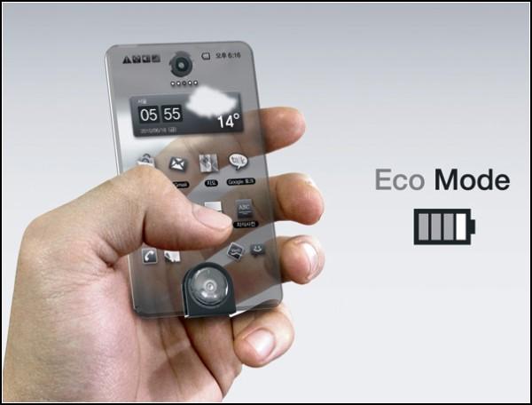 Концепт смартфона Second Life с *тающим* дисплеем