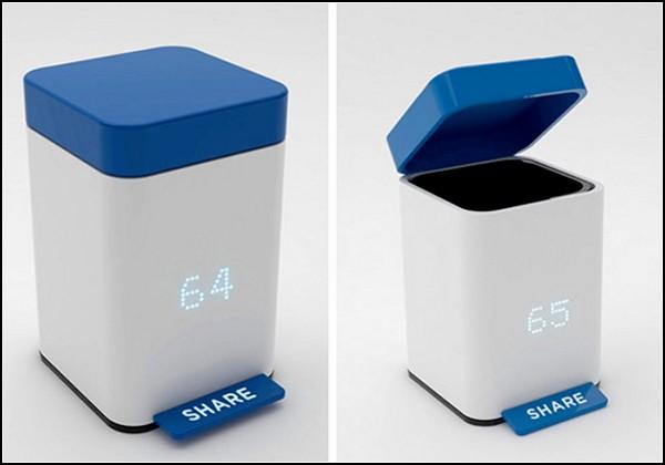 Share//Trash Can, мусорное ведро-писькомерка