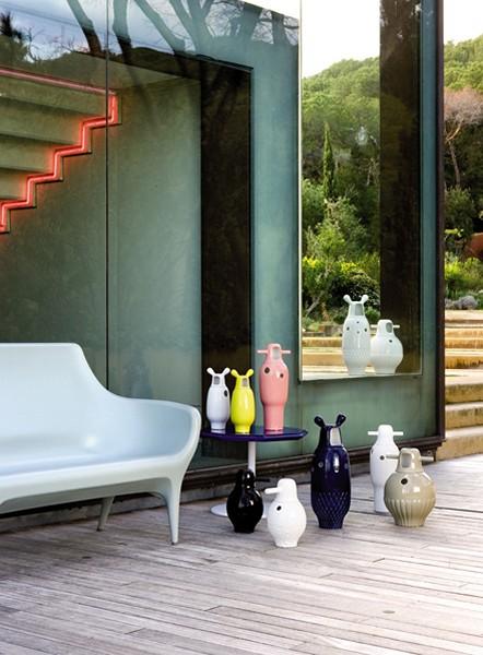 Showtime Vases, креативные фарфоровые вазы для BD Barcelona