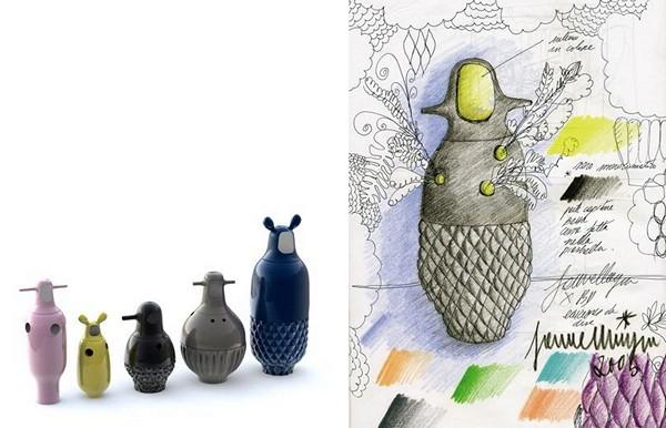 Showtime Vases, креативные фарфоровые вазы Хайме Айона (Jaime Hayon)
