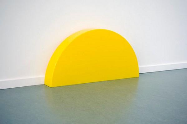 Skirting Board Sunset, светильник заходящее солнце от Хельмута Смитса