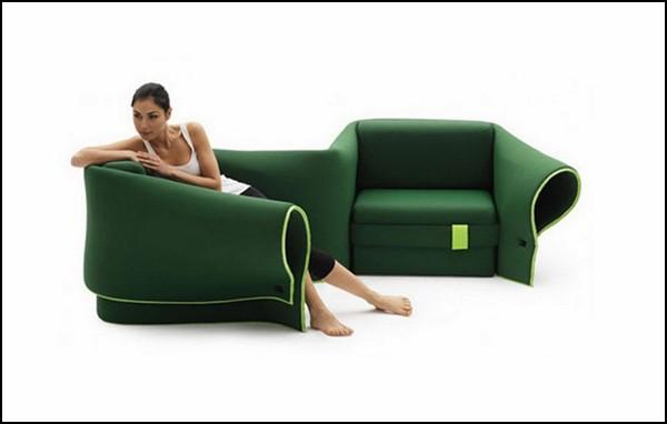 Sosia, диван, который превращается в кресла, кушетку и гнездышко