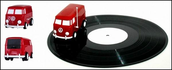 Soundwagon. Портативный проигрыватель для пластинок
