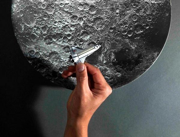 Лунная тарелка из серии космической посуды Space Bowls
