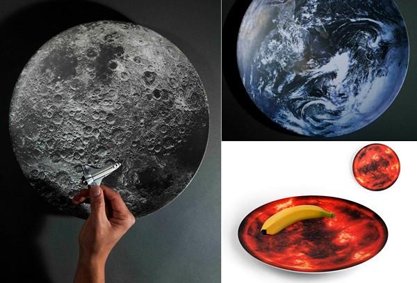 Космическая посуда Space Bowls от Себастьяна Эрразуриса
