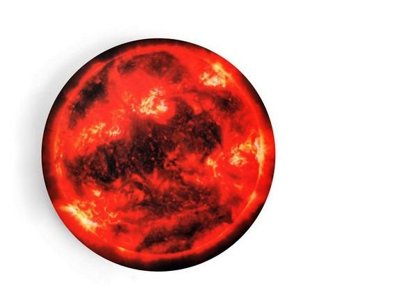 Солнце (The Sun), тарелка серии космической посуды Space Bowls