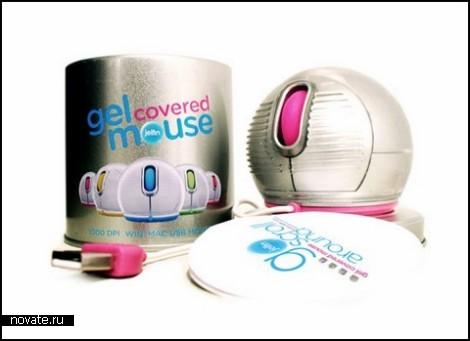 Мягкая мышка Spherical mouse от компании Jelfin