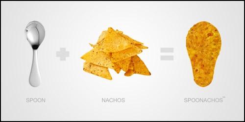 Съедобные ложки-чипсы SpooNachos