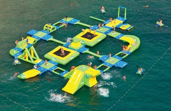 Надувной мини-аквапарк Sports Park 60 от компании Wibit