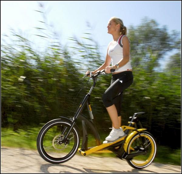 StreetStepper bike. Велосипед и тренажер