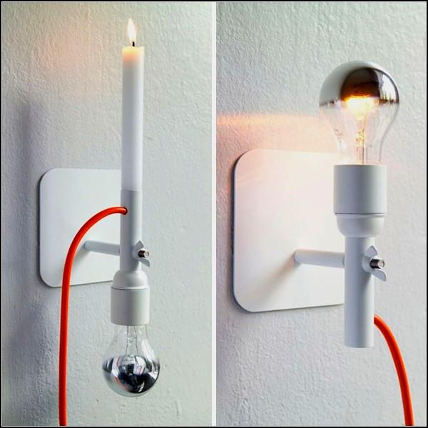 Лампа-полка Sunday Lamp от Мартины Карпелан