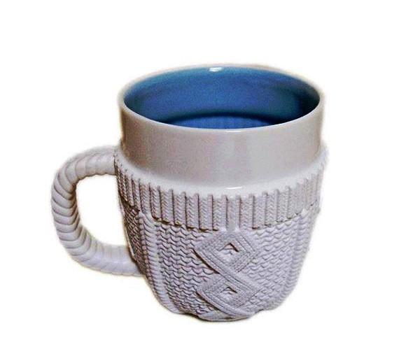 Зимний дизайн. Фарфоровый свитер для кружки Sweater Mug