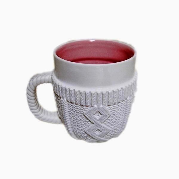 Фарфоровый свитер для кружки Sweater Mug