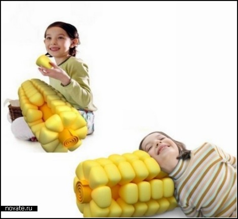 *Кукурузная* подушка Sweetcorn Pillow