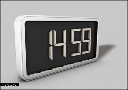 Магнитные часы Switchital от Matthias Pugin