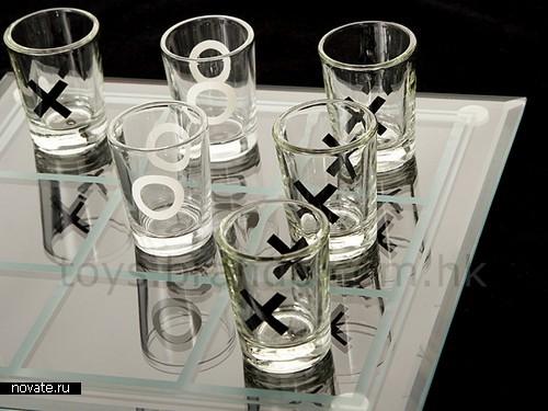 Крестики-нолики для любителей выпить и побузить
