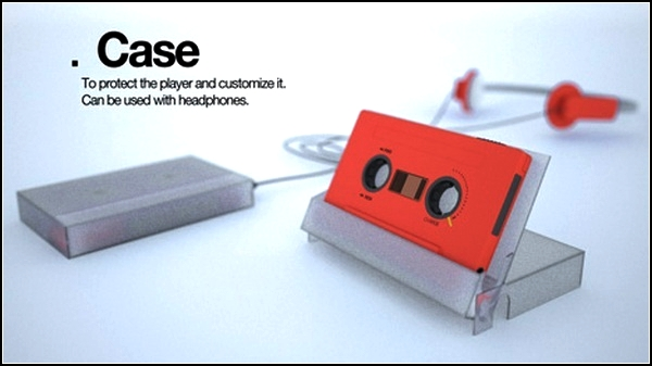 *Кассетный* mp3-плейер TVDRS Tape