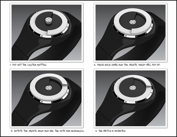 Время на ощупь. Тактильные часы для слепых Tactile Wrist-Watch