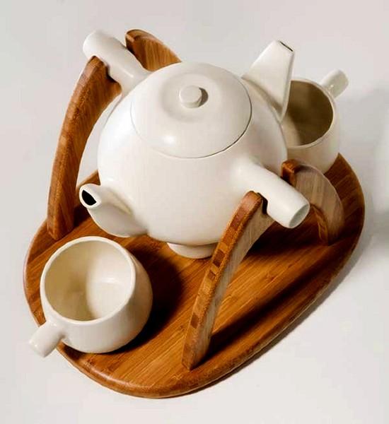 Tea for Two, чайный сервиз для двоих от Марк Хуанга (Mark Huang)