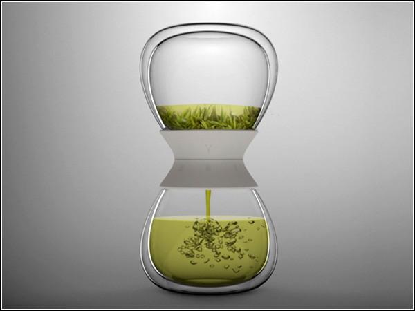 Tea-time tea steeper, креативный заварник в виде песочных часов