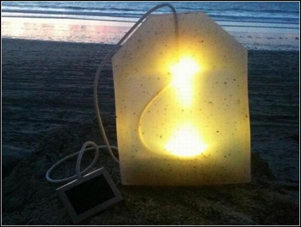 Гигантский светящийся чайный пакетик Teabag Lamp